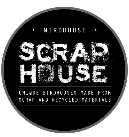 Scraphouse :: Unique birdhouses made from recycled materials